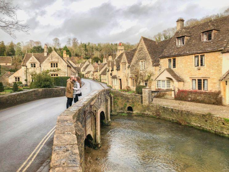 cestování po Anglii