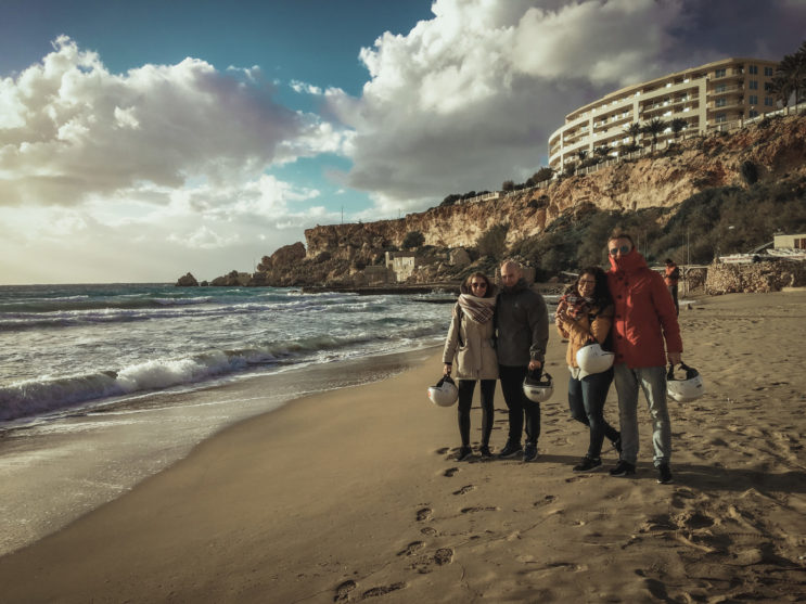 cestování na maltě, golden beach malta