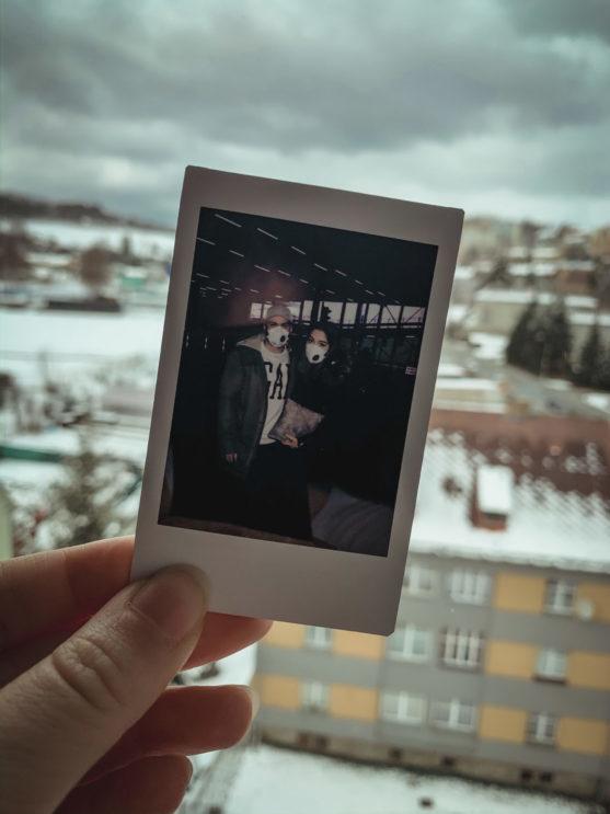 fotka z polaroidu