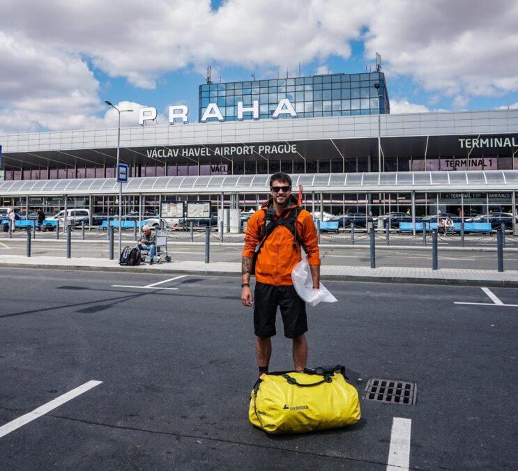 Letiště Václava Havla a Ondra Vlk na cestě do ruska