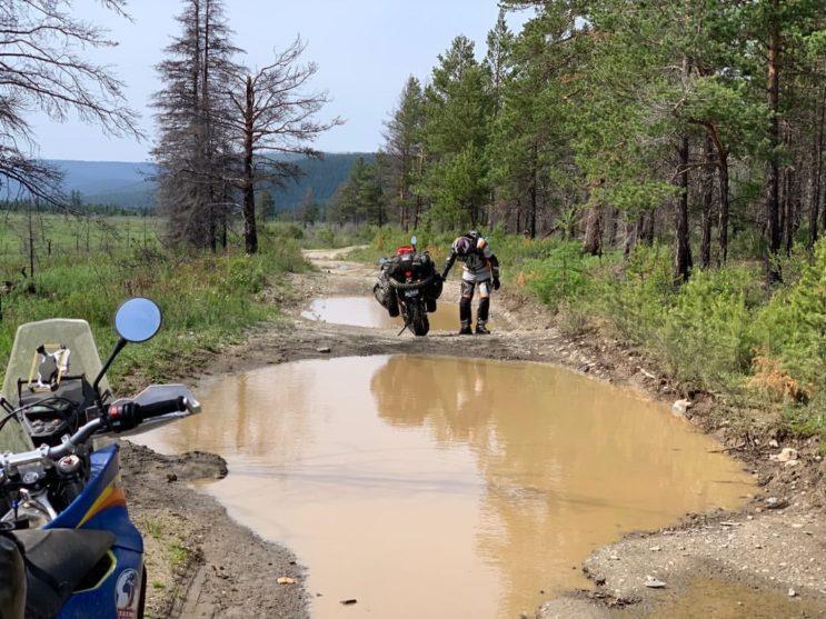 Sibiř a blátivé cesty