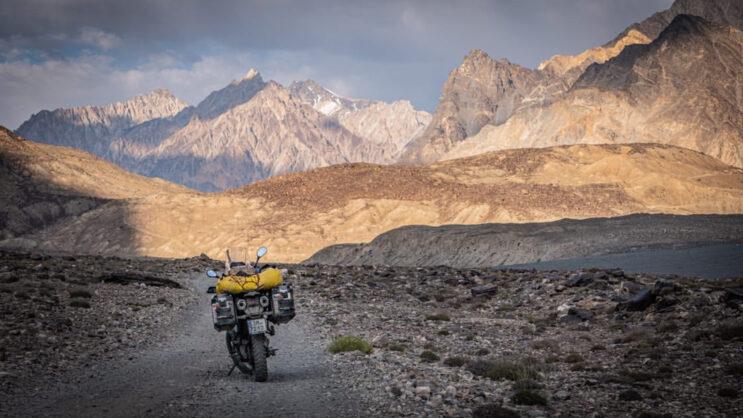 Motorka v Afgánistánu