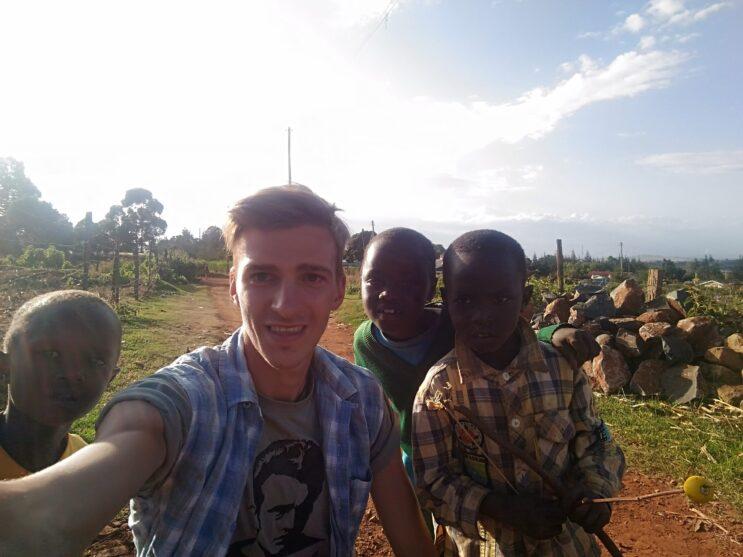 Běžci v Etiopii