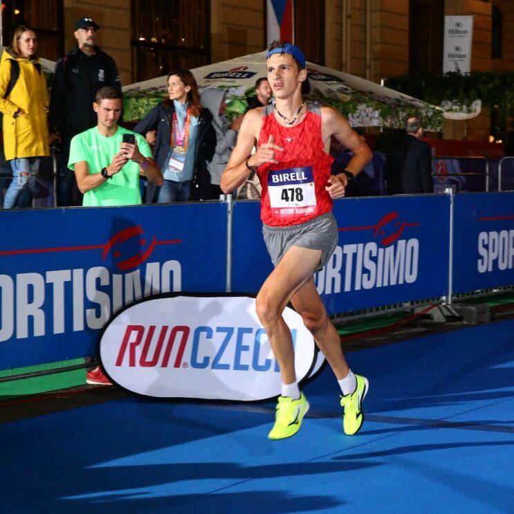 Půlmaraton v Praze a Jiří Csirik
